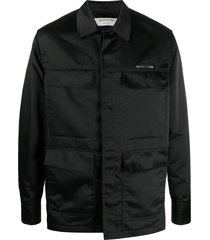 1017 alyx 9sm multi-pocket police shirt - black