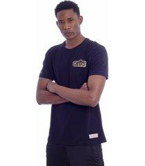 camiseta mitchell & ness estampada cleveland cavaliers preta - preto - masculino - dafiti