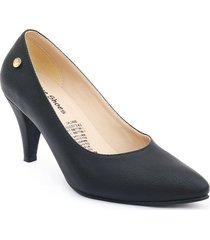 priceshoes calzado dama ejecutivo tacon 542675negro