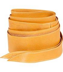 federica tosi leather sash belt