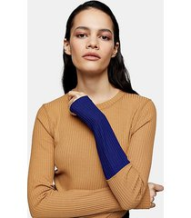 *camel ribbed top by topshop boutique - camel