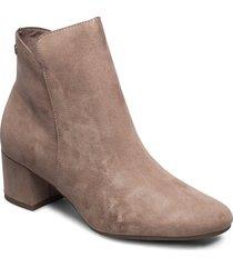 woms boots shoes boots ankle boots ankle boot - heel beige tamaris