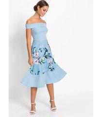 carmen jurk met print