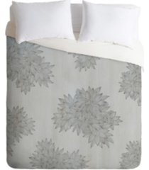 deny designs iveta abolina beach day gray twin duvet set bedding