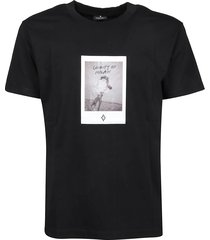marcelo burlon t-shirt rose square