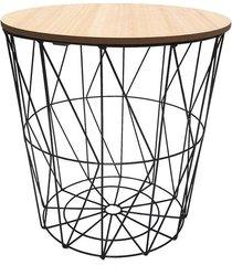 mesa lateral wire 40x41cm
