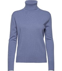 cashmere roller neck sweater turtleneck coltrui blauw filippa k