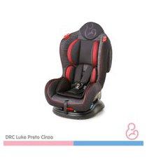 cadeira auto luke preto e cinza 0 a 25kg - galzerano