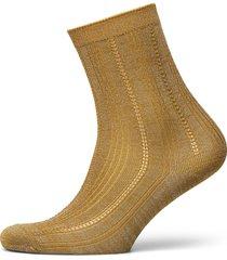 glitter drake sock lingerie socks regular socks gul becksöndergaard