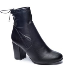 chinese laundry kyla block heel booties women's shoes