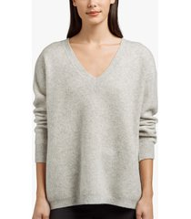 cashmere silk oversized sweater