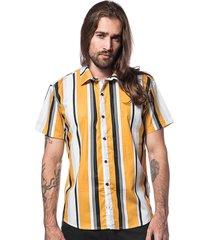 camisa hermoso compadre casual amarelo - kanui