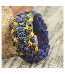 men's wristband bracelet, 'eagle's nest' (ghana)