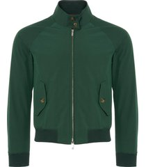 womens g9 harrington jacket | racing green | brcps0218-6368