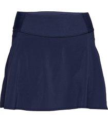 pwrshape solid woven skirt kort kjol blå puma golf
