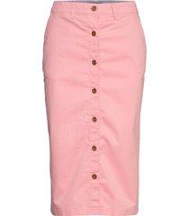 d1. hw chino skirt knälång kjol rosa gant