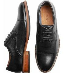 florsheim men's surge black cap-toe oxfords - size: 10 d-width