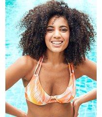 manila palm mindful underwire halter tab bikini top d-gg