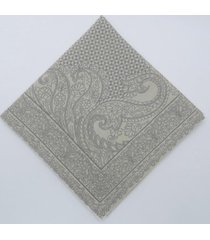 kit 2 pc. de guardanapo tulea 47x47 cm 100%algodão importado de portugal