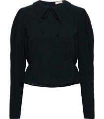 pixie blus långärmad svart custommade