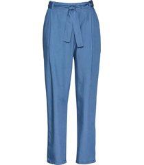 pantaloni con pinces in tencel lyocell (blu) - bpc selection premium
