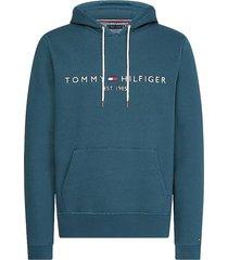 hoodie logo blauw