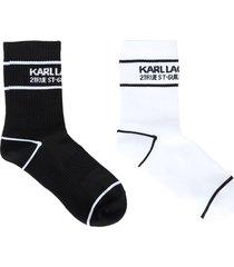 karl lagerfeld socks & hosiery