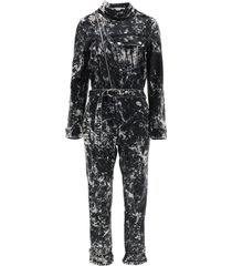 stella mccartney holly denim jumpsuit