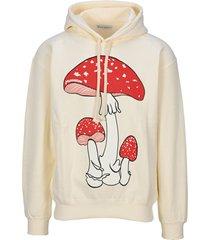 jw anderson mushrooms hoodie