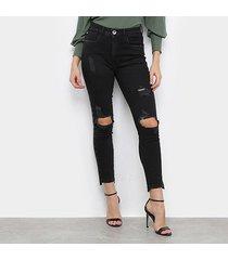 calça jeans my favorite thing ankle super high feminina