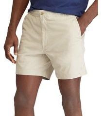 "polo ralph lauren men's 6"" classic-fit drawstring shorts"