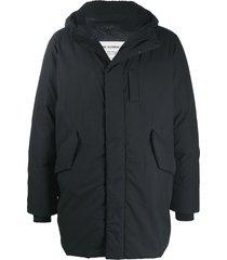 rag & bone oversize padded jacket - black