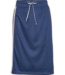 skirt knälång kjol blå champion rochester