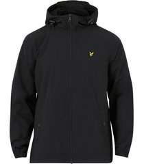 jacka zip through hooded jacket
