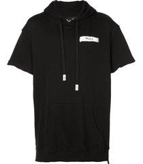 haculla haculla short-sleeve hoodie - black