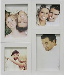 painel multifotos para 4 fotos 24x29cm branco