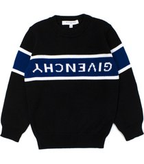 givenchy black cotton pullover