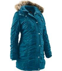 giacca prémaman regolabile con cappuccio (petrolio) - bpc bonprix collection