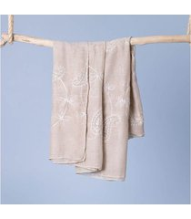 lenço kingston cor: branco - tamanho: único