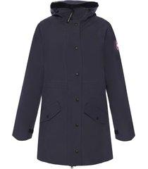 'trinity' drawstring hood jacket