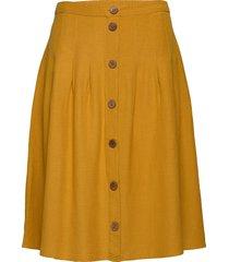 jrbrino midi skirt - k knälång kjol gul junarose