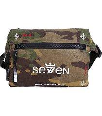 pochete seven brand pocket bordada
