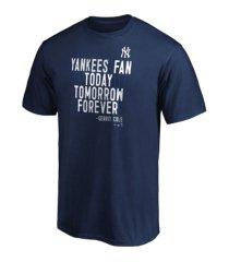 majestic new york yankees men's mission statement t-shirt gerrit cole