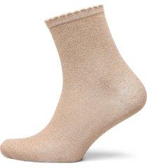 pcsebby glitter long 1 pack socks noos lingerie socks regular socks beige pieces
