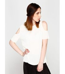 blusa off shoulder