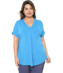 t-shirt melinde godê azul