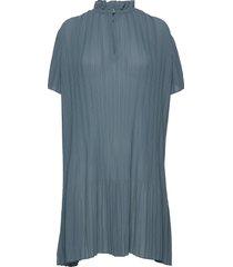 lady ss dress 6621 kort klänning blå samsøe samsøe