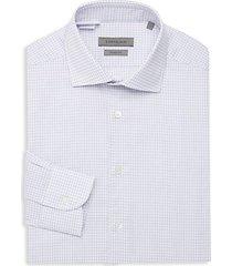 wrinkle free check dress shirt