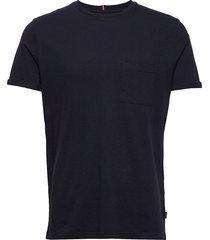 brenon linen t-shirt t-shirts short-sleeved blå les deux