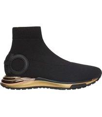gardena high-top sneakers with sock